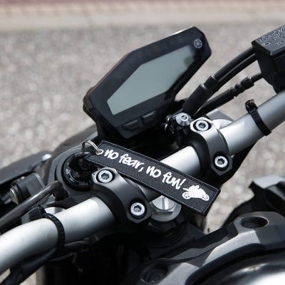 No Fear No Fun - Motorcycle Keychain