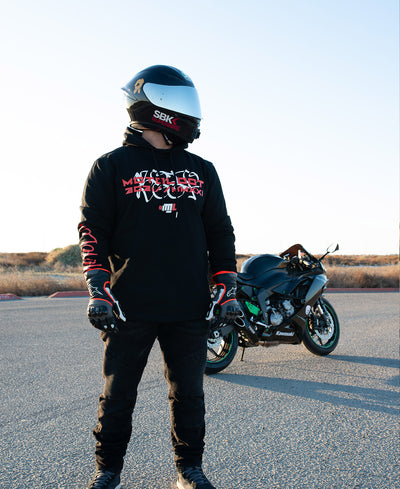 On The Limit Scoop Pullover Hoodie