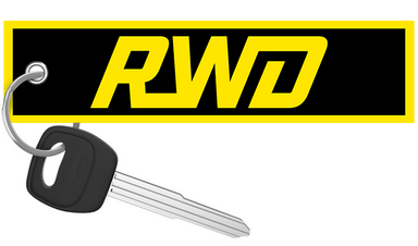 Riding With Dave -  RWD Motorcycle Keychain