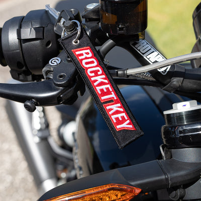 Rocket Key - Motorcycle Keychain