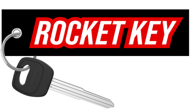 Rocket Key - Motorcycle Keychain riderz