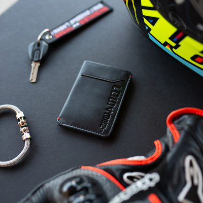 Shift Pattern - Slim Motorcycle Wallet