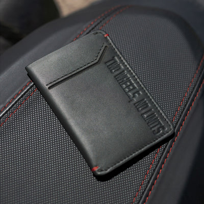 Two Wheels, No Limits - Slim Motorcycle Wallet