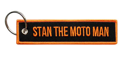 Stan The Moto Man - Motorcycle Keychain