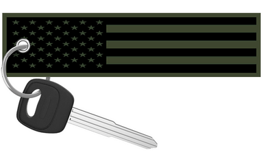 Street Speed 717 -  US Flag Keychain