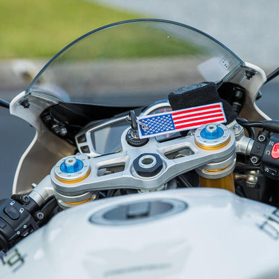 United States of America Flag - Motorcycle Keychain