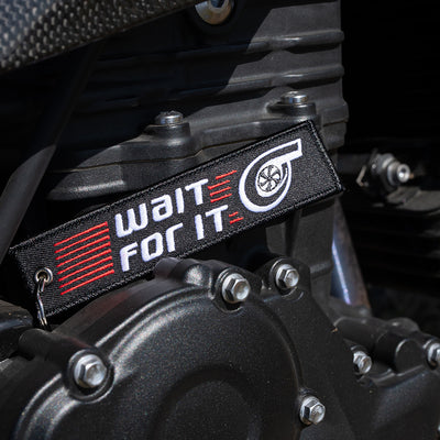 Wait for it Turbo - Motorcycle Keychain