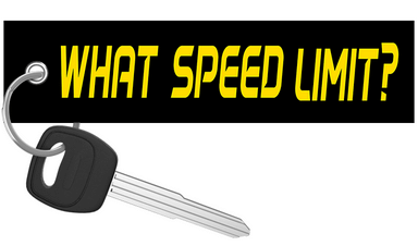 What speed limit? - Motorcycle Keychain riderz