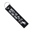 Where'd That Tree Come From? - Dirt Bike Keychain