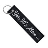 Yes, It's Mine - Motorcycle Keychain