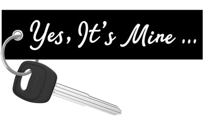 Yes, It's Mine - Motorcycle Keychain riderz