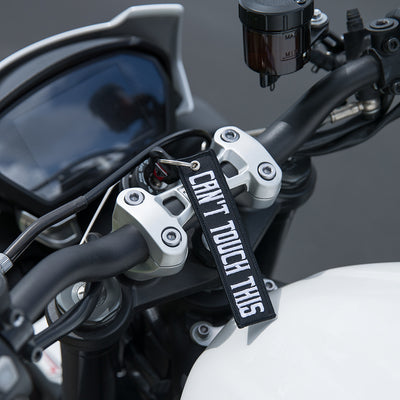 Can't Touch This - Motorcycle Keychain