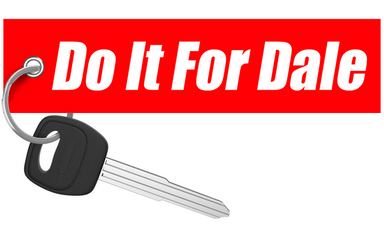 Cleetus Mcfarland - Do It For Dale Keychain