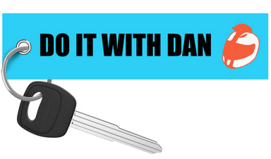 DO IT WITH DAN Motorcycle Keychain