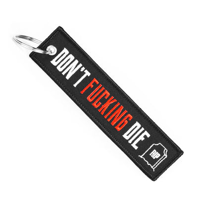 Don't Die - Motorcycle Keychain