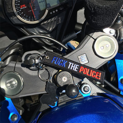 Fuck The Police! - Motorcycle Keychain