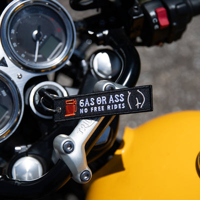 Gas or Ass - Motorcycle Keychain