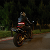 High Visibility LED Motorcycle Belt Red