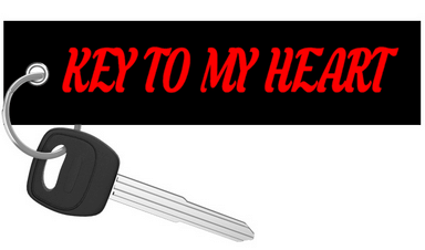 Key To My Heart - Motorcycle Keychain