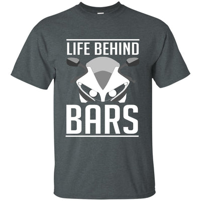 Life Behind Bars T-Shirt Grey Small Medium Large X-Large XX-Large XXX-Large 4XL 5XL 6XL