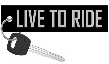 Live to Ride / Ride to Live (Special edition) - Motorcycle Keychain