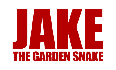 Motorcycle Decal - Jake The Garden Snake Red