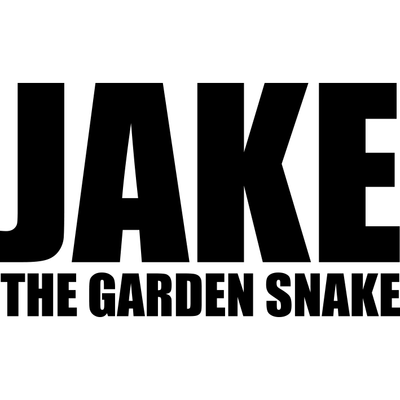 Motorcycle Decal - Jake The Garden Snake Black
