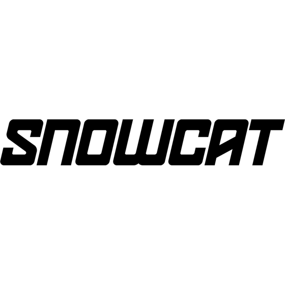 Motorcycle Decal - SNOWCAT (2 pack)