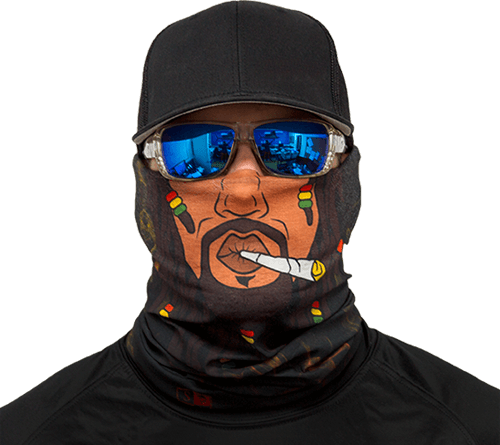 Motorcycle Face Mask - Rasta