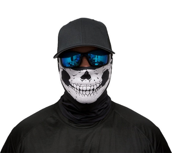 Motorcycle Face Mask - Skull