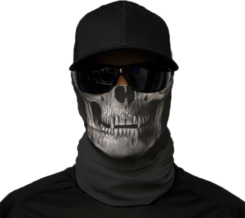 Motorcycle Face Mask - Tactical Skull