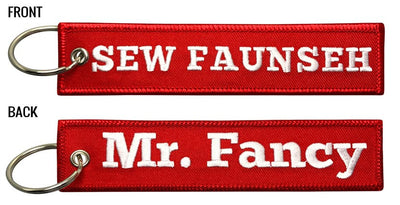 Mr. Fancy -  SEW FAUNSEH Keychain