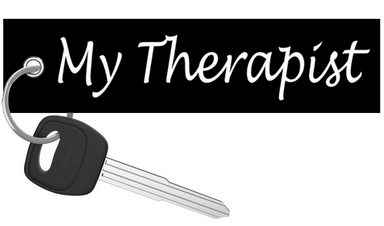 My Therapist - Motorcycle Keychain riderz
