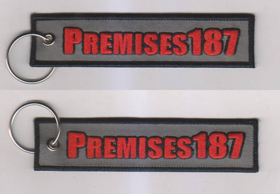 Motorcycle Keychain - Premises187 - Moto Key Tag