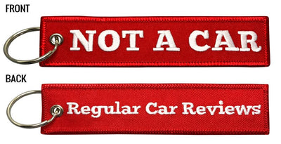 RegularCarReviews - NOT A CAR Keychain