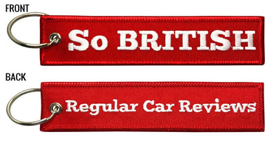 RegularCarReviews - So BRITISH Keychain