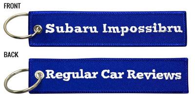 RegularCarReviews - Subaru Impossibru Keychain