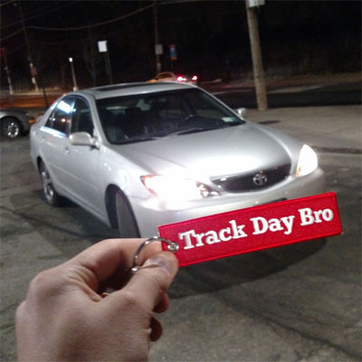 RegularCarReviews - Track Day Bro Keychain