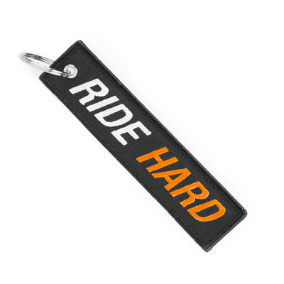 Ride Hard - Motorcycle Keychain