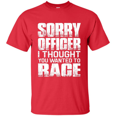 Sorry Officer T-Shirt Red Small Medium Large X-Large XX-Large XXX-Large 4XL 5XL 6XL