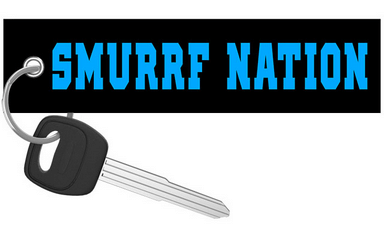That Dude In Blue - Smurrf Nation Keychain