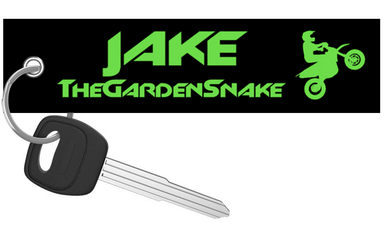 Motorcycle Keychain - The Garden Snake