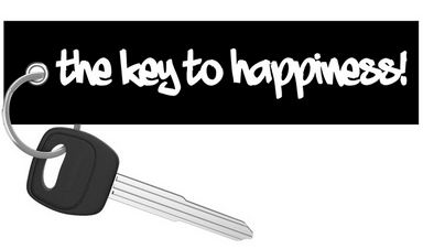 Motorcycle Keychain - The key to happiness! riderz
