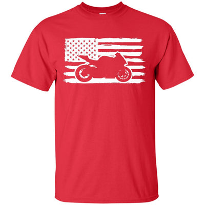 US Sportbike Rider T-Shirt Red Small Medium Large X-Large XX-Large XXX-Large 4XL 5XL 6XL