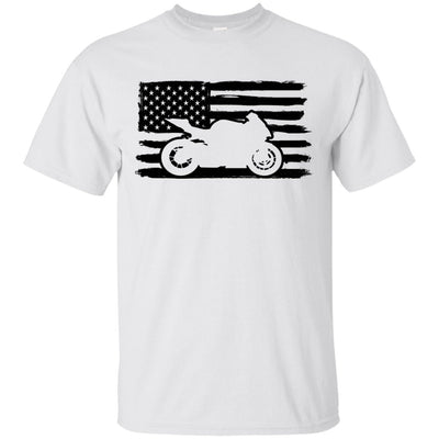 US Sportbike Rider T-Shirt White Small Medium Large X-Large XX-Large XXX-Large 4XL 5XL 6XL