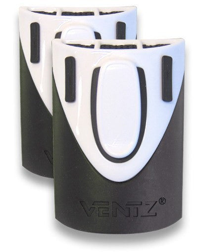 Moto Loot - Ventz - Rider Cooling System White