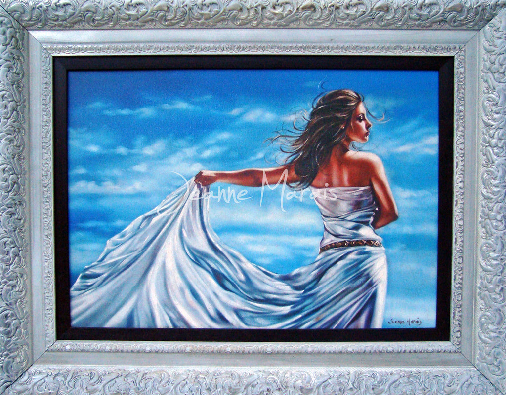 Framed Sea Goddess - Jeanne Marais