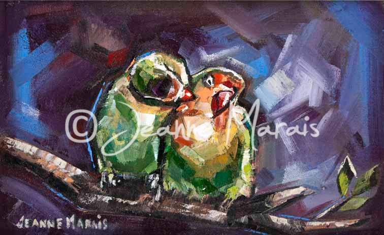 Lovebirds - Jeanne Marais