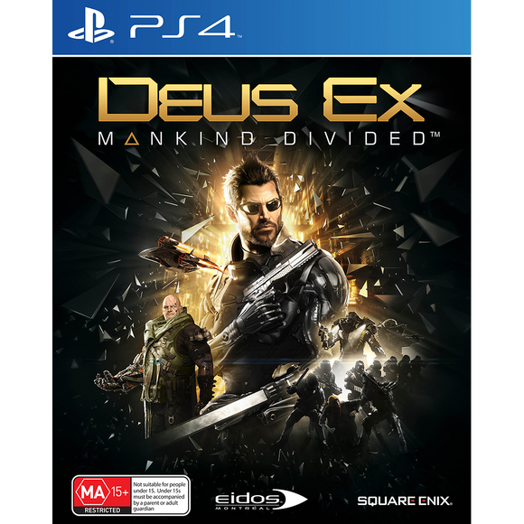 Deus Ex: Mankind Divided PS4 (Pre-Played)