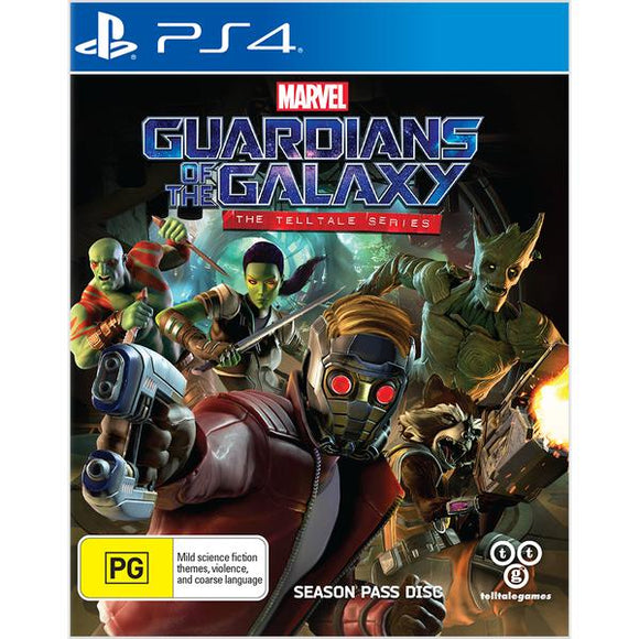 Marvel's Guardians of the Galaxy: The Telltale Series - Season Pass Disc PS4 (Pre-Played)